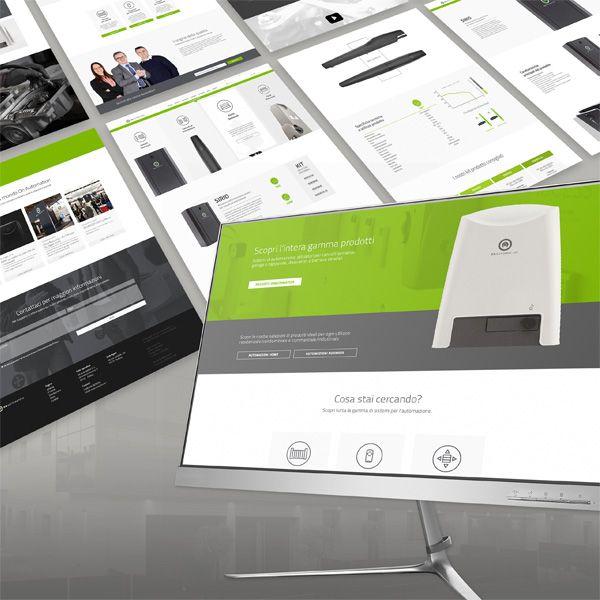UX/UI sito web OnAutomation