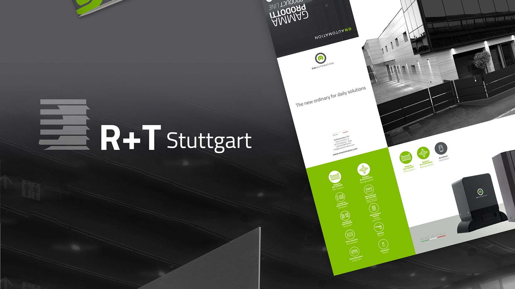 Allestimenti Fieristici Design Stand R+T 2018 OnAutomation 06