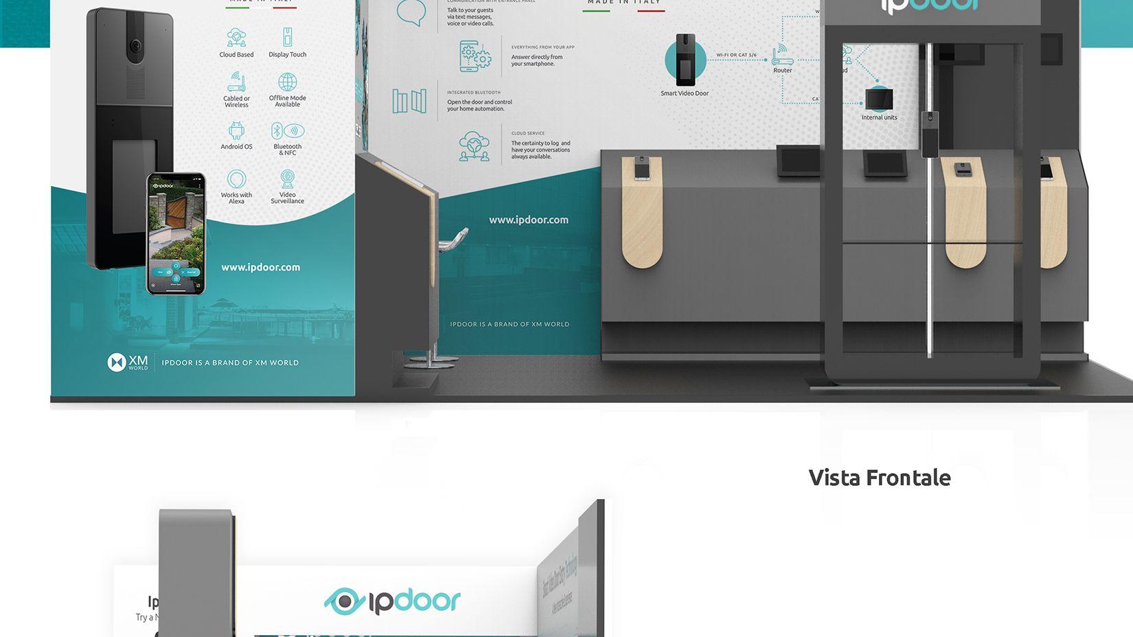 Design Allestimenti Fieristici ISC-2019 IpDoor 4