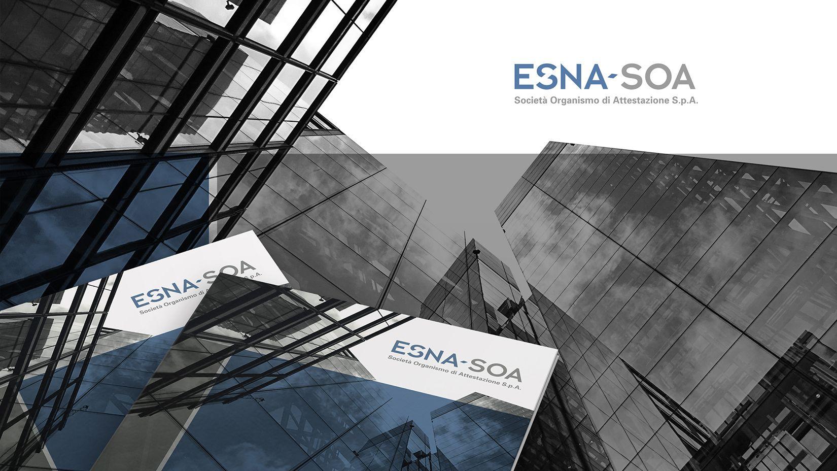 Grafica Pubblicitaria Immagine Coordinata ESNA-SOA 1
