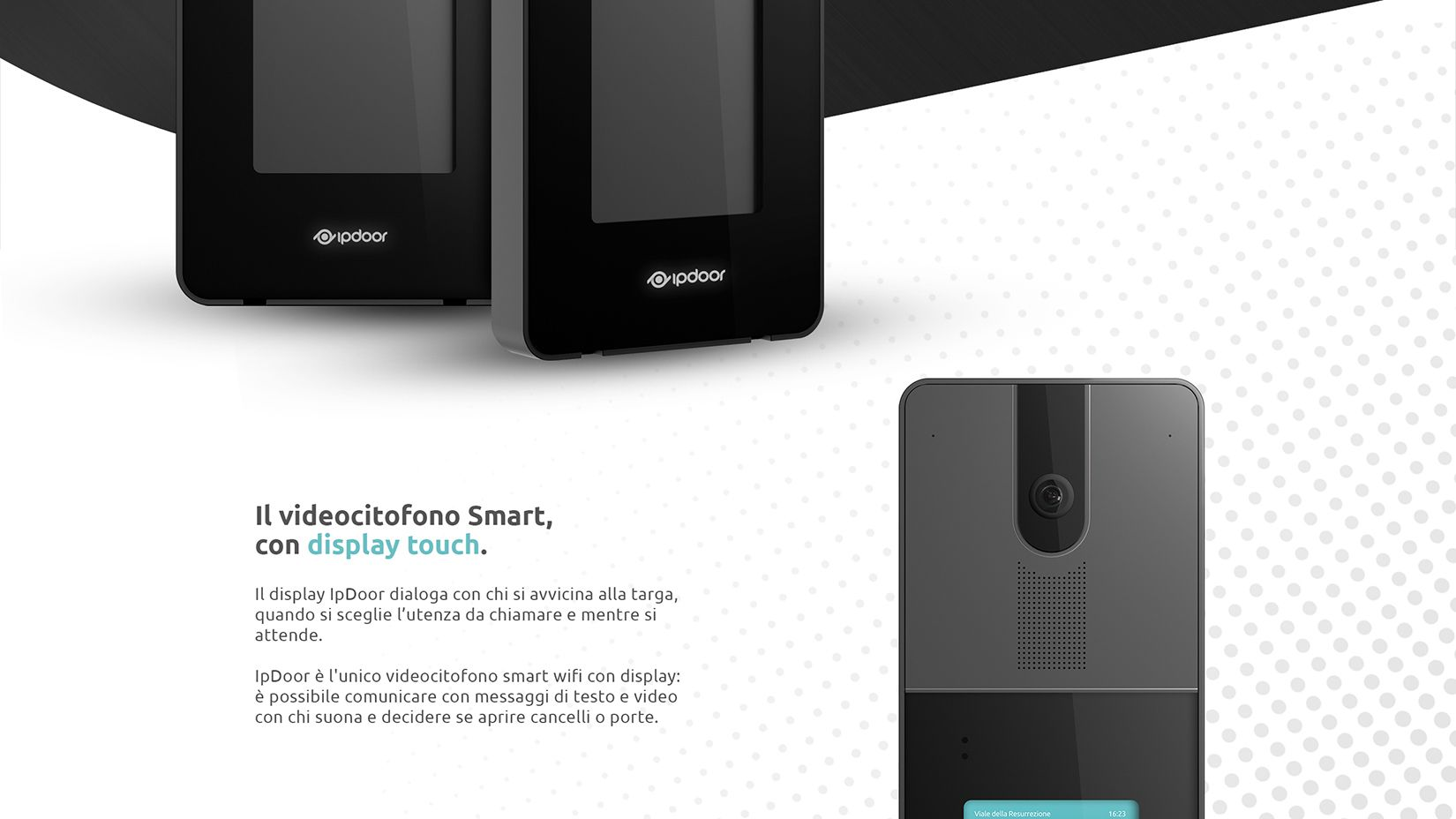 Product Design Industrial Design Videocitofono Smart IpDoor 2