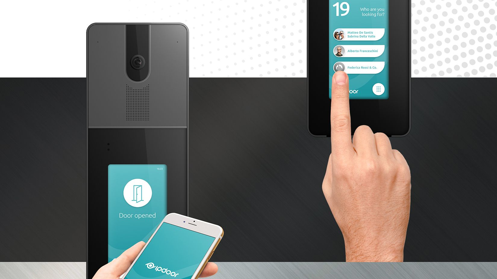 Product Design Industrial Design Videocitofono Smart IpDoor 3