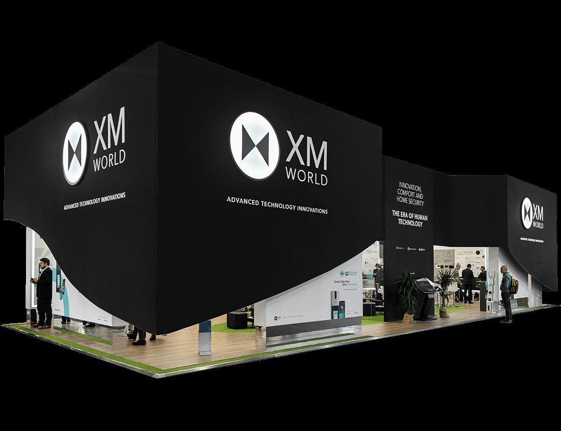 Progettazione stand fieristico per XM World a Milano